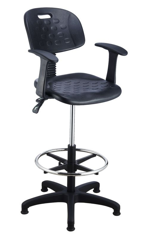 Beta Science Lab Stools With Backs And Footrest Lab Stools