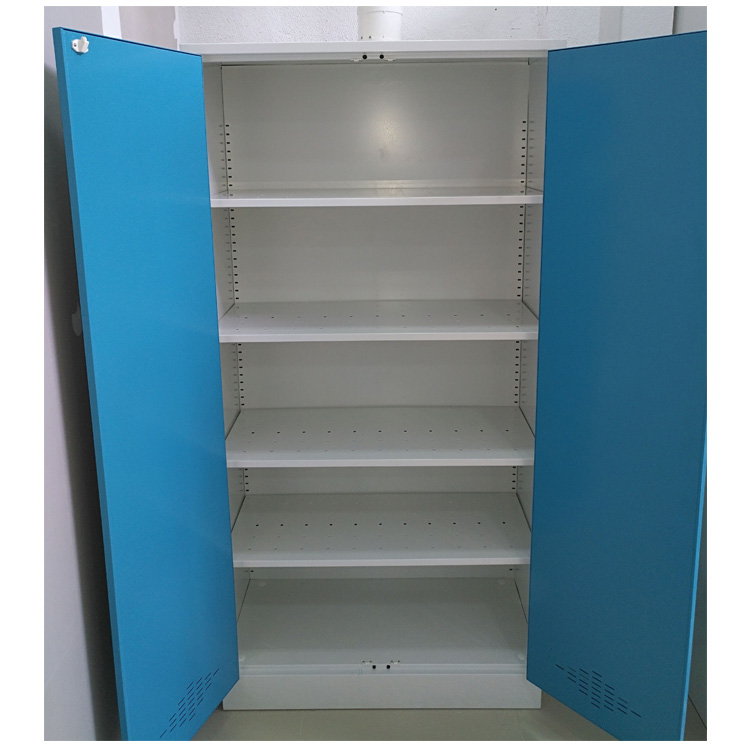 lab furniture storage cabinet with adjustable shelves