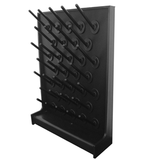 Laboratory Accessories Dry Rack Lab Furniture Lab Accessories PP Single Faced Pegboard