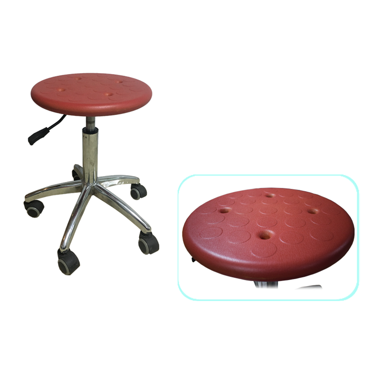 Metal lab stool with backrest price