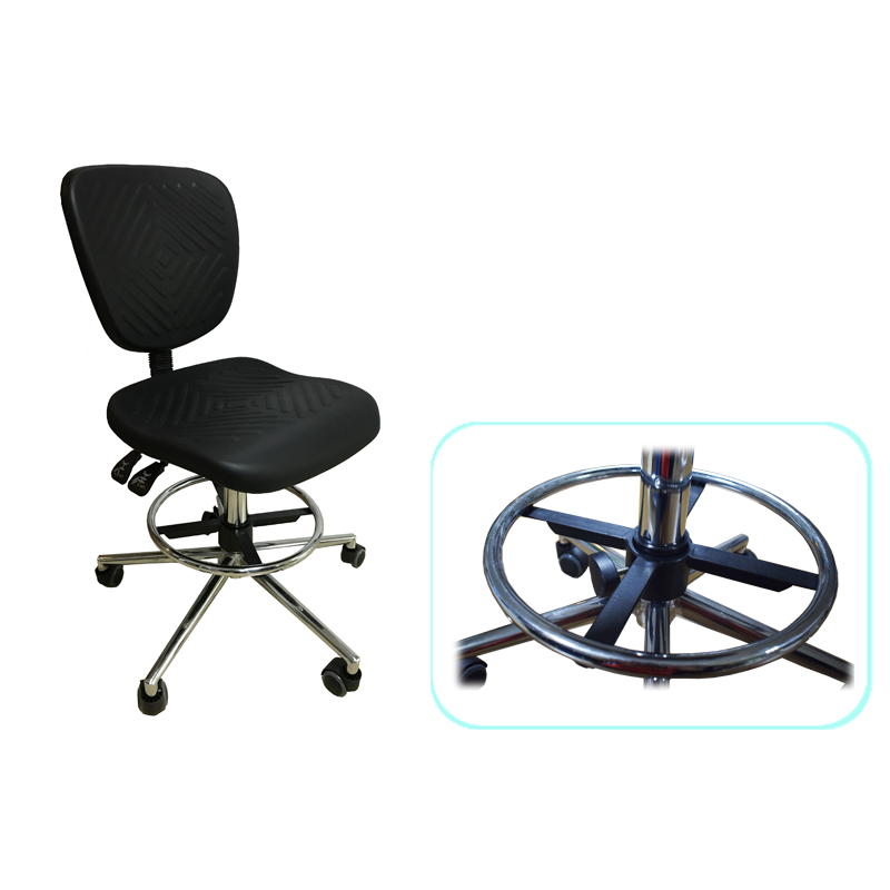 Customized revolving steel Lab chairs
