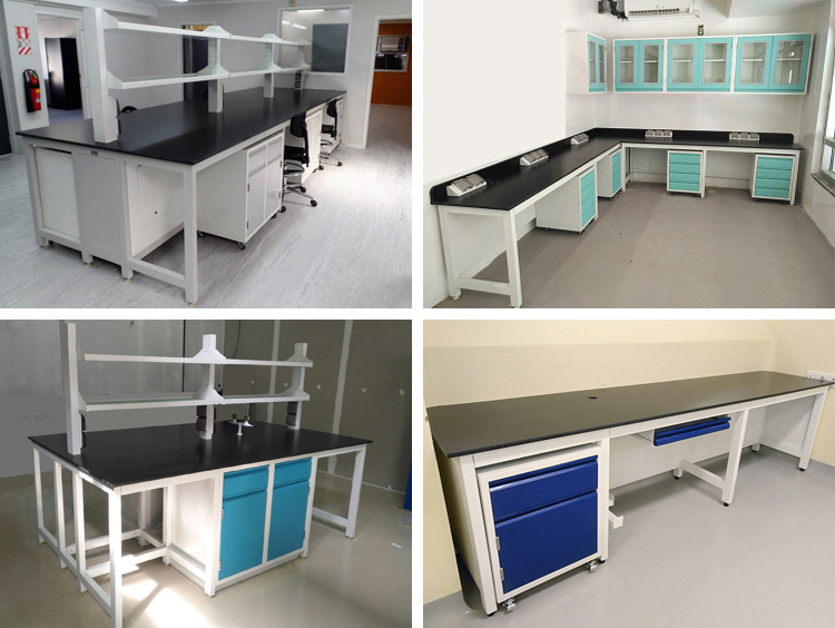 H-Frame lab table