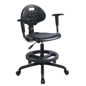Beta Science Lab Stools With Backs and Footrest
