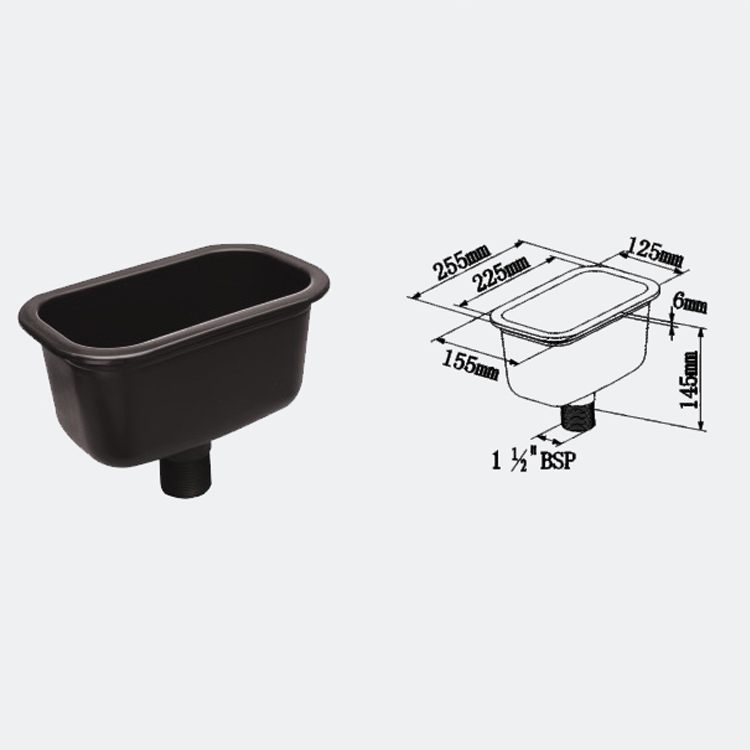 High Quality Laboratory Furniture Lab PP Sink