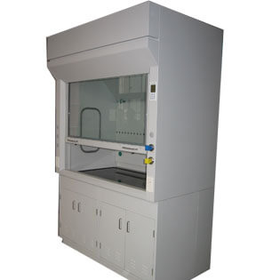 chemical laboratory fume cupboards with sink