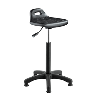 Modern durable lab chair with 5-leg castors