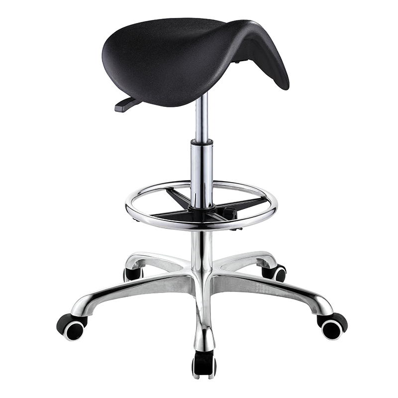 Modern desgin antistatic adjustable esd stool lab leather chair