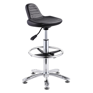 Lift and swivel office chair lab stool withour armrest and castor